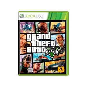 Grand Theft Auto V (GTA V) - Usado - Xbox 360