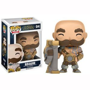 Boneco Funko Pop League Of Legends - Braum 04