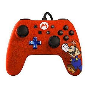 Nintendo Switch - Controle com fio Super Mario