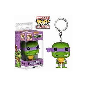 Funko Pocket Pop Keychain: Donatello - Tartarugas Ninja