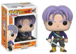 Boneco Funko Pop Dragon Ball Z - Trunks 107