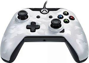 Controle PDP Com Fio - Ghost White - Xbox One e PC