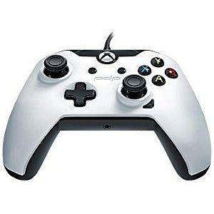 Controle PDP Com Fio - Branco - Xbox One e PC