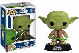 Boneco Funko Pop - Star Wars - Yoda n°02