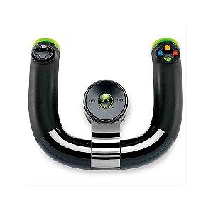 Volante Microsoft sem fio - |Usado| -  Xbox 360