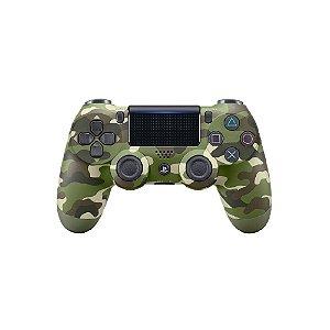 Controle Sony Dualshock 4 Verde Camuflado - PS4