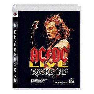 Ac Dc Live - |Usado| - PS3