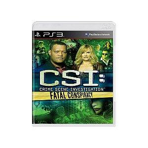 CSI: Fatal Conspiracy - Usado - PS3