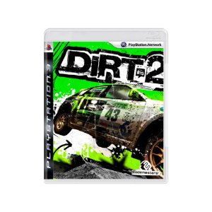 Dirt 2 - Usado -  PS3