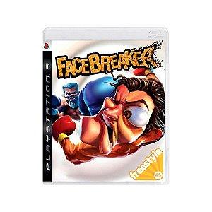 FaceBreaker - Usado - PS3