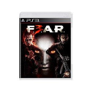 F.E.A.R. 3 - Usado - PS3