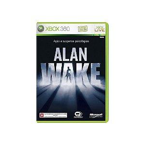 Alan Wake - Usado - Xbox 360