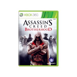 Assassin's Creed Brotherhood - Usado - Xbox 360
