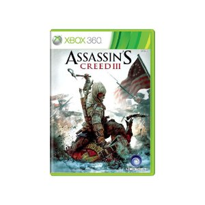 Assassin's Creed III - Usado - Xbox 360