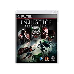 Injustice: Gods Among Us - Usado - PS3