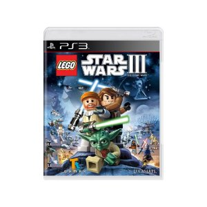 LEGO Star Wars III: The Clone Wars - Usado - PS3