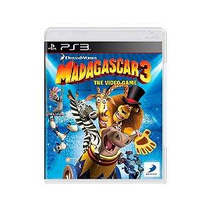 Madagascar 3: The Video Game - Usado - PS3