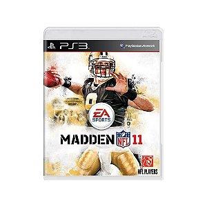 Jogo Madden NFL 11 - |Usado| - PS3