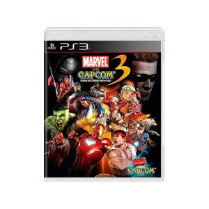 Marvel Vs Capcom 3 Fate of Two Worlds - Usado - PS3