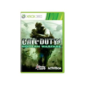 Call of Duty 4 Modern Warfare - Usado - Xbox 360