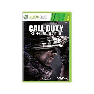 Call Of Duty Ghosts - Usado - Xbox 360