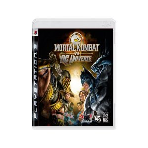 Mortal Kombat vs DC Universe - Usado - PS3