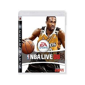 NBA Live 08 - Usado - PS3