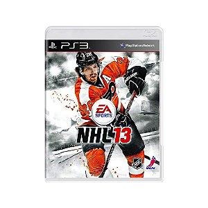 NHL 13 - Usado - PS3