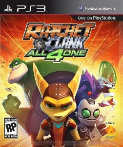 Ratchet  Clank All 4 One - |Usado| - PS3