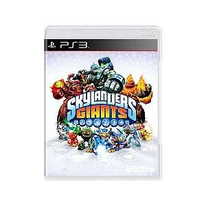 Skylanders Giants - Usado - PS3