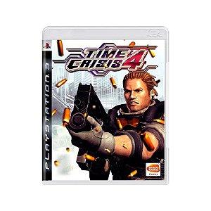 Time Crisis 4 - Usado - PS3