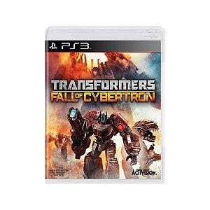 Transformers Fall Of Cybertron - Usado - PS3