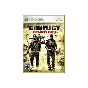 Conflict: Denied Ops - Usado - Xbox 360