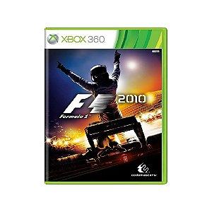 Formula 1 2010 - Usado - Xbox 360