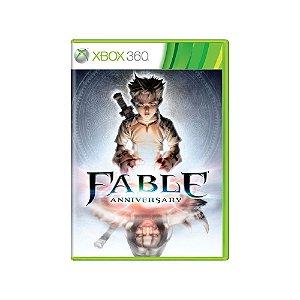 Fable Anniversary - Usado - Xbox 360