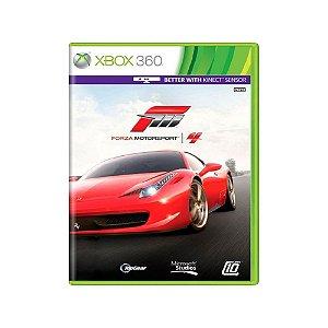 Forza Motorsport 4 - Usado - Xbox 360