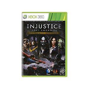 Injustice Gods Among Us (Ultimate Edition) - Usado - Xbox 360