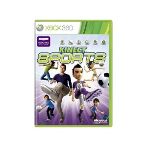 Kinect Sports - Usado - Xbox 360