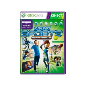 Kinect Sports: Segunda Temporada - Usado - Xbox 360