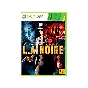 L.A. Noire - Usado - Xbox 360