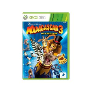 Madagascar 3: The Video Game - Usado - Xbox 360