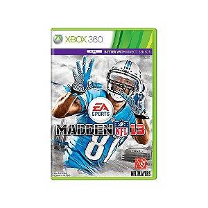 Jogo Madden NFL 13 - |Usado| - Xbox 360