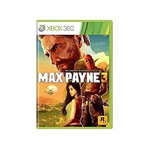 Max Payne 3 - Usado - Xbox 360