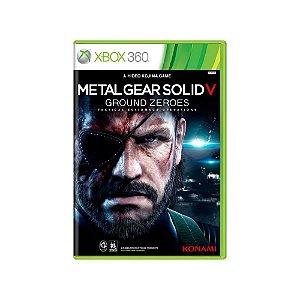 Metal Gear Solid V: Ground Zeroes - Usado - Xbox 360
