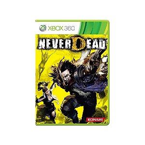 NeverDead - Usado - Xbox 360