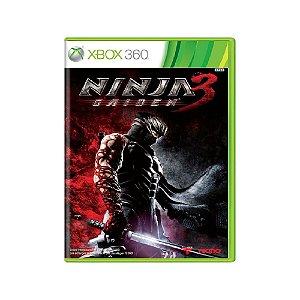 Ninja Gaiden 3 - Usado - Xbox 360