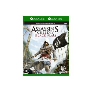 Jogo Assassin's Creed IV: Black Flag - Xbox 360 e Xbox One