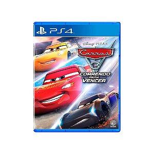 Carros 3 Correndo Para Vencer - PS4