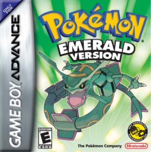 Pokémon Emerald Version - Usado - GBA