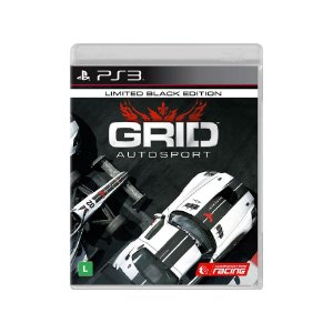 Grid Autosport (Black Edition) - Usado - PS3
